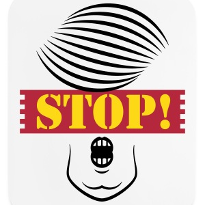 Stop Trump! (Caricature Of Donald Trump) Other - Mouse pad Vertical