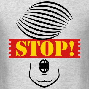 Stop Trump! (Caricature Of Donald Trump) T-Shirts - Men's T-Shirt