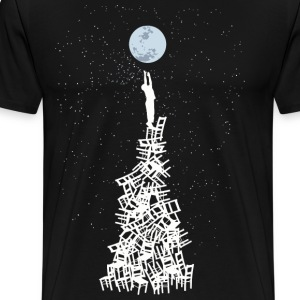 go to moon - Men's Premium T-Shirt