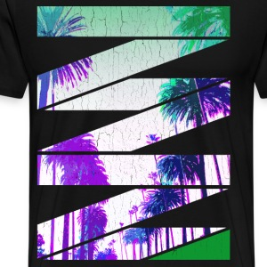 West Coast Stripes (vintage look) - Men's Premium T-Shirt