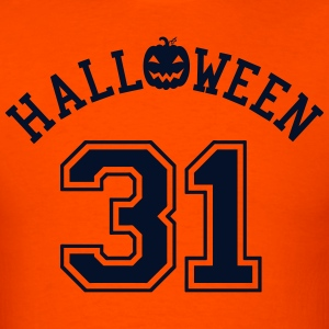 Sporty Halloween 31 Glitz T-shirt - Men's T-Shirt