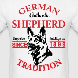 German Shepherd Tradition T-Shirts - Men's T-Shirt