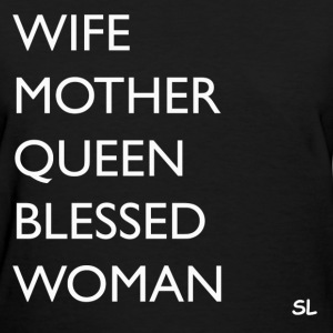 Empowered And Blessed Tee T-Shirts - Women's T-Shirt