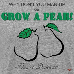 Grow a Pear-light prints - Men's Premium T-Shirt