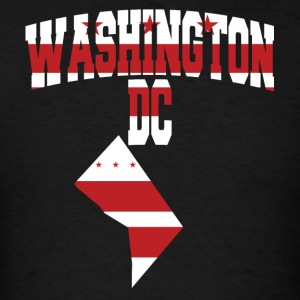 Washington DC flag T-Shirt - Men's T-Shirt