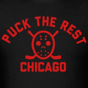 Puck the Rest Chicago T-Shirts - Men's T-Shirt