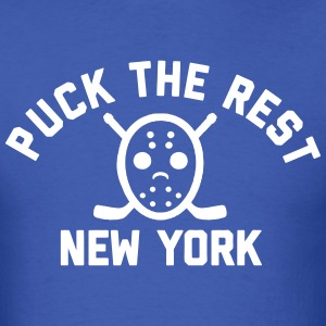 Puck the Rest NYC T-Shirts - Men's T-Shirt