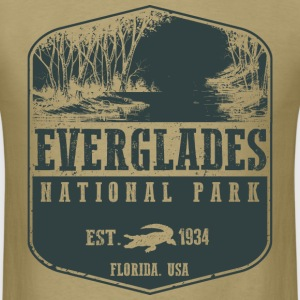 Everglades National Park T-Shirts - Men's T-Shirt