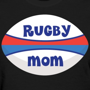 Rugby Mom Team Mom Gift T-Shirts - Women's T-Shirt