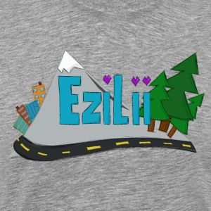 Ezilii Cities Logo T-Shirts - Men's Premium T-Shirt