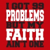 99 Problems Christian V-Neck tee - Women's V-Neck T-Shirt