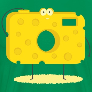 say cheese - Men's Premium T-Shirt