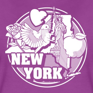 I NEW YORK LOVE - Women's Premium T-Shirt