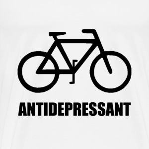 Antidepressant Bike - Men's Premium T-Shirt