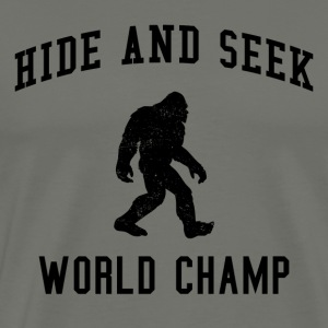 Hide And Seek Champ Bigfoot - Men's Premium T-Shirt