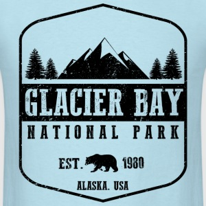 Glacier Bay National Park T-Shirts - Men's T-Shirt