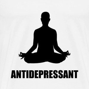 Antidepressant Yoga - Men's Premium T-Shirt