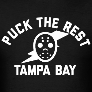 Puck the Rest Tampa Bay T-Shirts - Men's T-Shirt