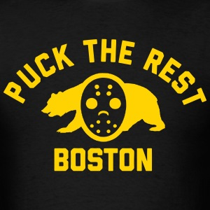 Puck the Rest Boston T-Shirts - Men's T-Shirt