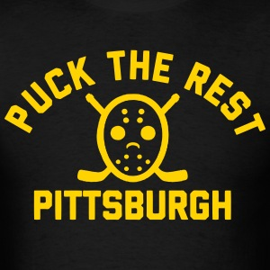 Puck the Rest Pittsburgh T-Shirts - Men's T-Shirt