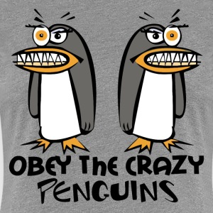 The Crazy Penguins - Women's Premium T-Shirt