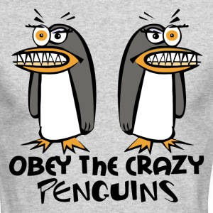 The Crazy Penguins - Men's Long Sleeve T-Shirt by Next Level