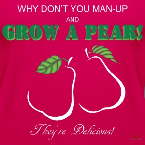 Grow a Pear-dark prints - Women's Premium Tank Top