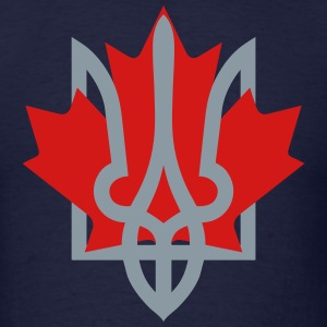 Ukraine and Canada - Men's T-Shirt