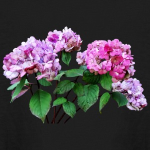 Lavender and Rose Hydrangea Kids' Shirts - Kids' Long Sleeve T-Shirt