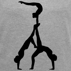 Acrobatic sports T-Shirts - Women´s Roll Cuff T-Shirt