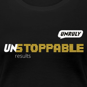 UNstoppable F - Women's Premium T-Shirt