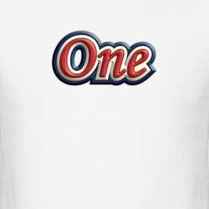 one - Men's T-Shirt