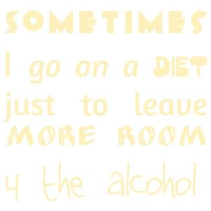 Sometimes I diet