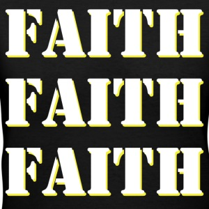 FAITH T-Shirts - Women's V-Neck T-Shirt