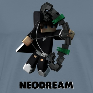 T-Shirt NeoDream Officiel Premium HOMME + text - Men's Premium T-Shirt