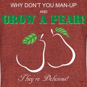 Grow a Pear-dark prints - Unisex Tri-Blend T-Shirt