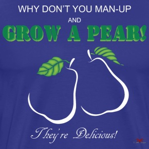 Grow a Pear-dark prints - Men's Premium T-Shirt