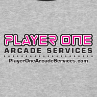 Design ~ Player One Jersey, White Border