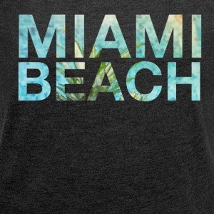 MIAMI BEACH TSHIRT Women - Women's Roll Cuff T-Shirt