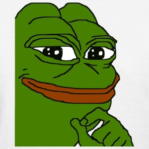 Smug Pepe - Women's T-Shirt
