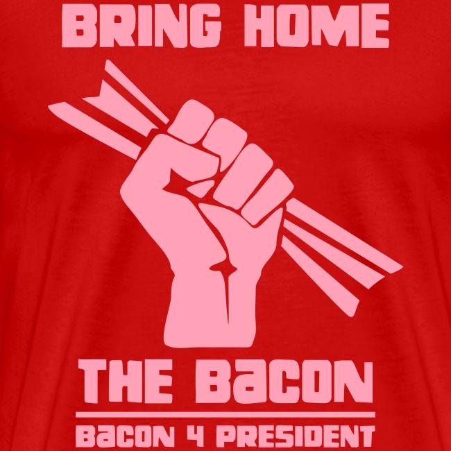Bring Home The Bacon Solidarity Mens Premium Tee