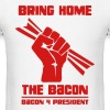 Bring Home The Bacon Solidarity Mens Tee - Men's T-Shirt