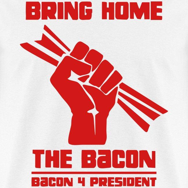 Bring Home The Bacon Solidarity Mens Tee