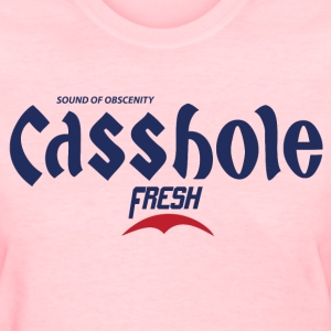 Casshole - K-Pop Fan Korean Beer Parody Shirt - Women's T-Shirt