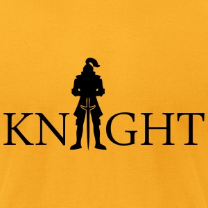 Knight T-Shirts - Men's T-Shirt by American Apparel
