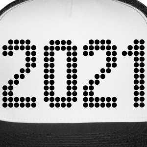 2021, Numbers, Year, Year Of Birth Sportswear - Trucker Cap