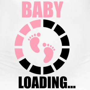 Funny Pregnancy Baby Loading - Women's Maternity T-Shirt