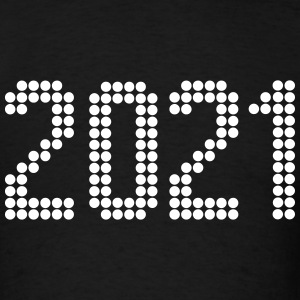2021, Numbers, Year, Year Of Birth T-Shirts - Men's T-Shirt