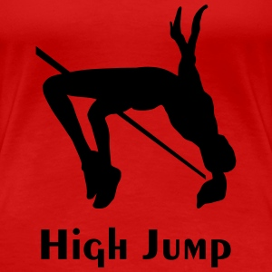 high jump T-Shirts - Women's Premium T-Shirt