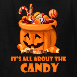All About The Candy Kids' Shirts - Kids' T-Shirt